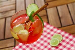 Gin Tonic de Fresa